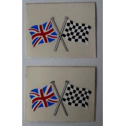 Stickers - Union and Chequer Crossed Flags 01.jpg