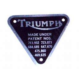 Triumph Patent Plate - alloy 70-4016.JPG