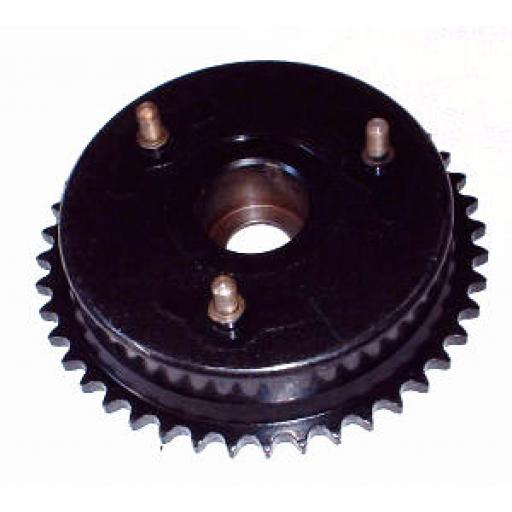 Brake Drum and Sprocket - Norton Atlas and early Commando - 06-0319