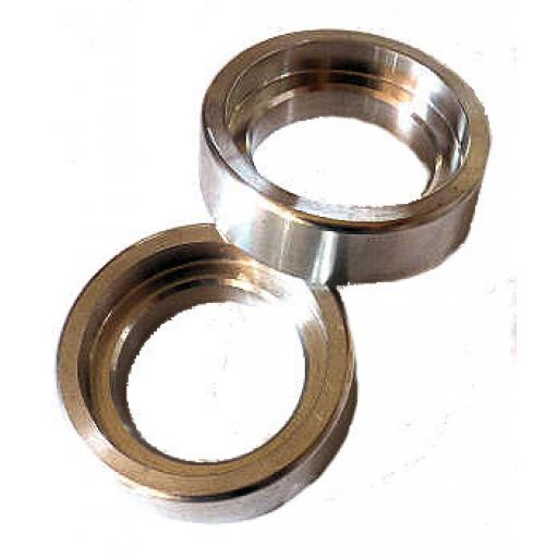 Alloy Top Spring Cups for External Springs - Norton Short Roadholder