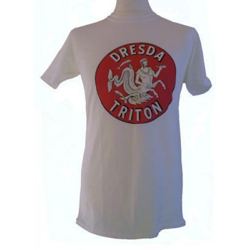 Dresda Triton Logo Tee Shirt