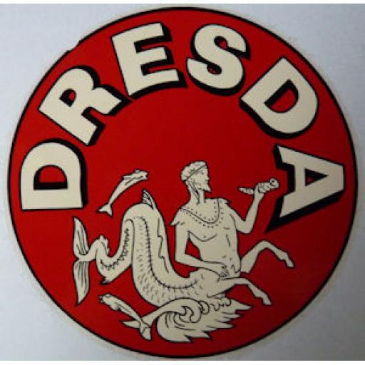 Round Dresda Logo Dry Transfer