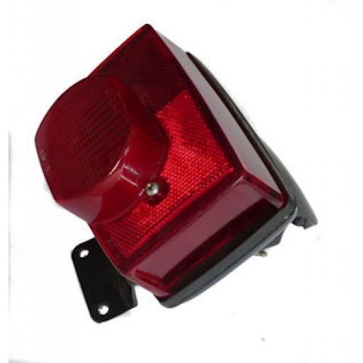Complete Tail Light Assembly - Triumph TR7, T140 - UK