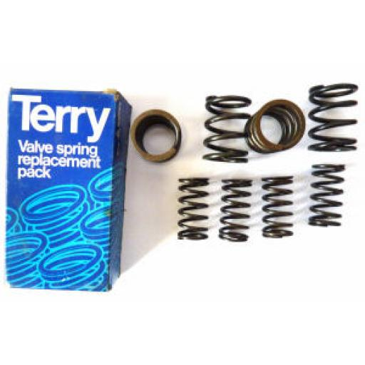 Terry's Aero Valve Springs - Triumph 650cc Twin T120 and TR6 1967 on