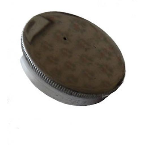Alloy Oil Tank Filler Cap - 2 inch diameter with breather hole
