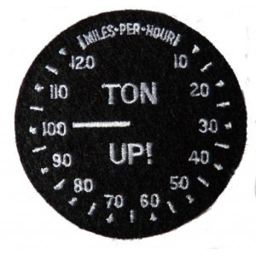 Round Ton-up Patch