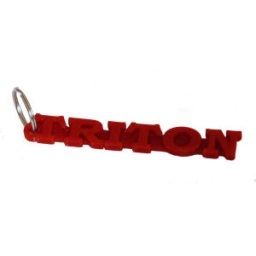 Triton Keyring - Key Fob