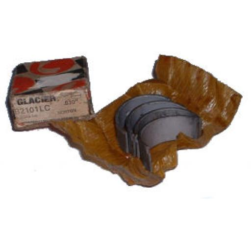 "Glacier Big End Bearings/Shells - Norton- 0.030"" - B2101 LC"