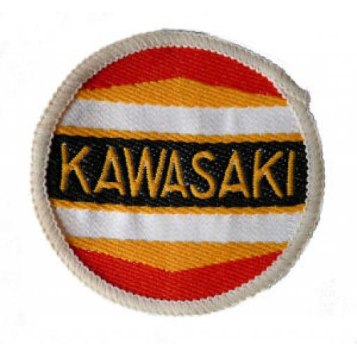 Kawasaki Cloth Patch