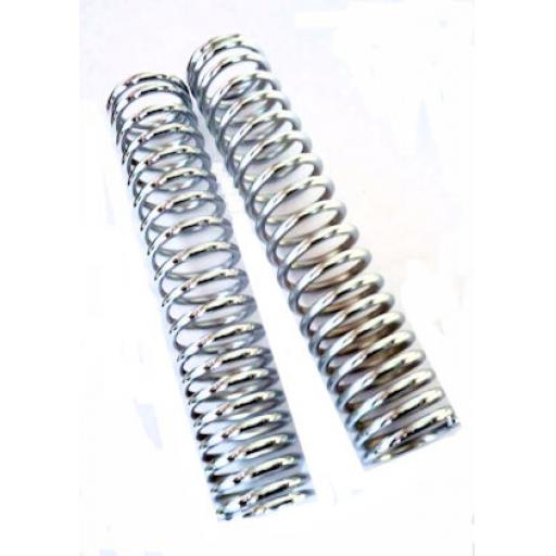 Chromed External Springs for Norton Short Roadholder Forks