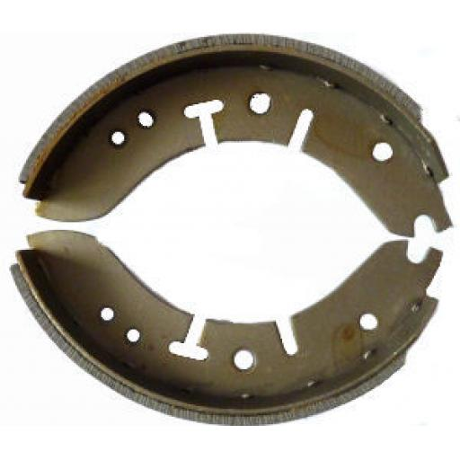 Brake Shoes - BSA Triumph 8 inch Front Conical Hub - 37-3713