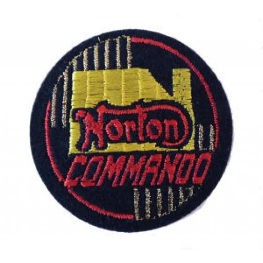 Norton Commando Patch