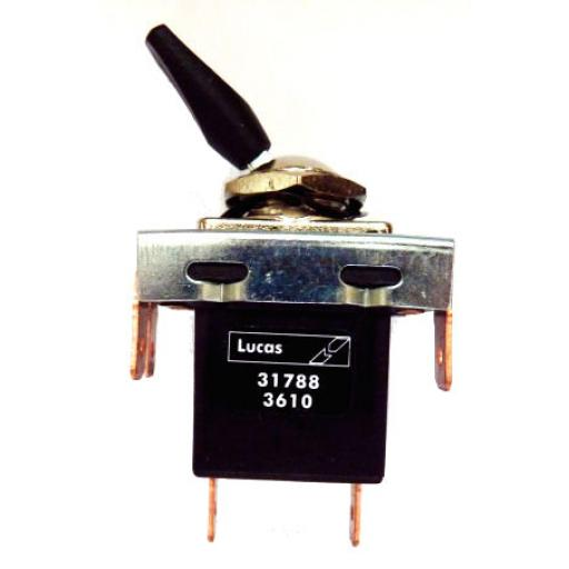 Lucas 3 Position Toggle Switch - 57SA - Lucas No 31788