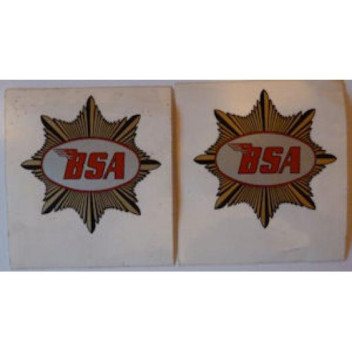 BSA Gold Star Sticker