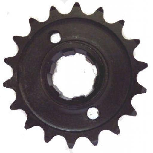 Gearbox Sprocket 18T - Triumph Unit 650cc 4 speed Gearbox