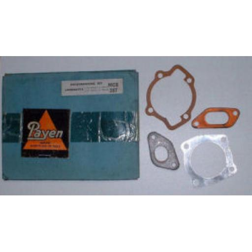 Decoke Gasket Set - Lambretta L1 125 Series 1.2 1958-62 and L150 Series 1.2 1958-63