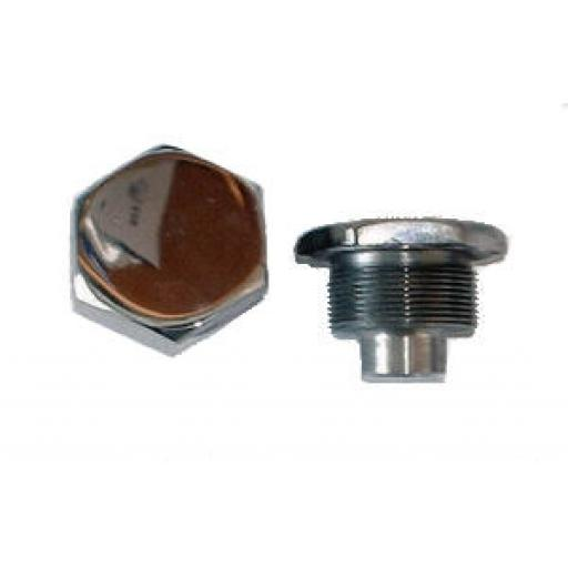 Fork Top Nuts - Triumph and BSA Conical Hub - 97-4258 - Alloy