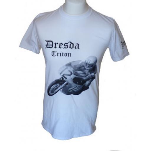 Dresda Triton Picture Tee Shirt White 01.jpg