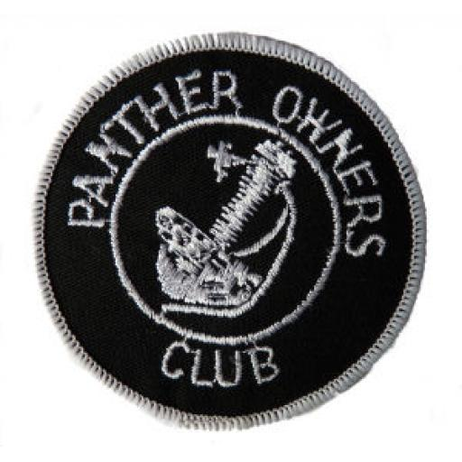Panther Owners Club Patch