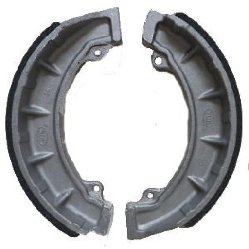 Brake Shoes - Triumph Twin Leading Shoe Brake - 37-1996
