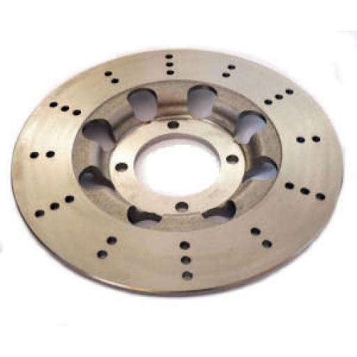 Lightened, Hard Chromed Brake Disc - Triumph T140 Bonneville, TR7 Tiger, T150 and T160 Trident - 37-7175LC