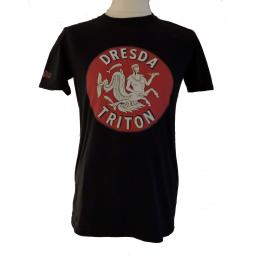 Tee Shirt Dresda Triton Logo Black 01.jpg