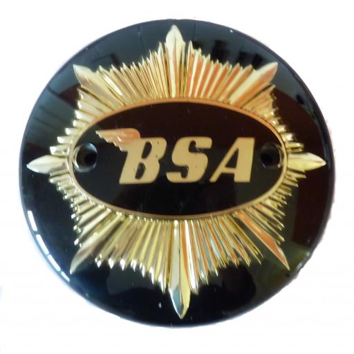 Tank Badges - BSA - Gold Star