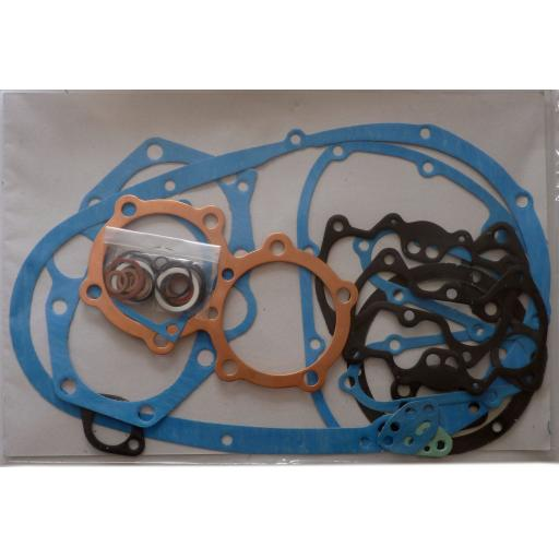 Engine Gasket Set - Triumph 750cc Twin T140 Bonneville TR7 Tiger 1973 on - 836 TRI