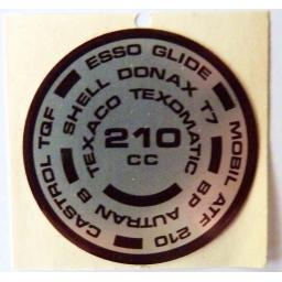 Sticker Alloy Round for Triumph Fork Top Nuts 01.jpg
