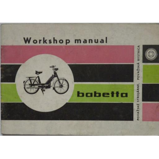 Babetta Moped Workshop Manual - 1972