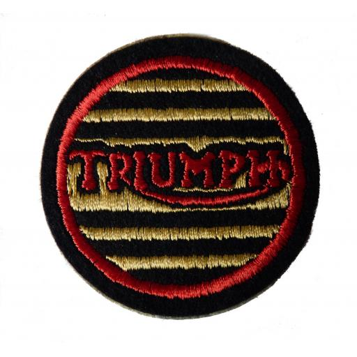 Triumph Round Patch