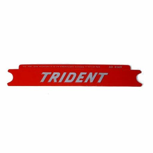 Side Panel Badge Sticker - Trident T160