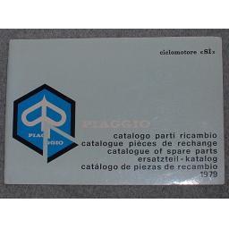 Piaggio Spare Parts List Ciclomotore SI 1979 01.jpg