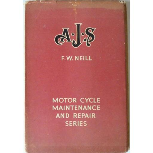 AJS Motor Cycle Maintenance and Repair Series - 1948
