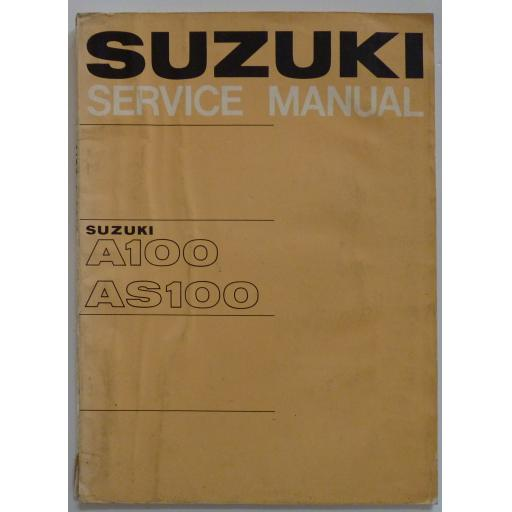 Suzuki A100 and AS100 Service Manual - June 1967