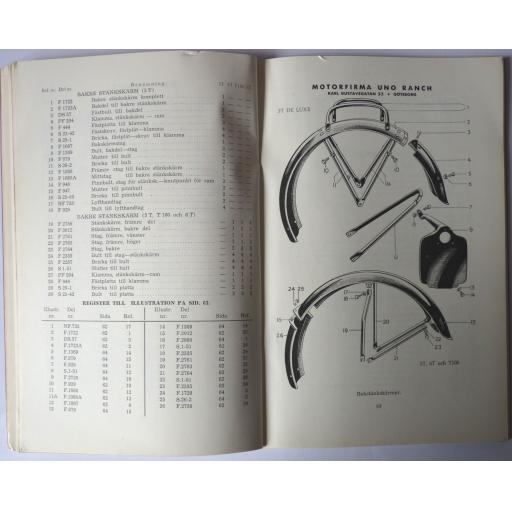 Triumph 1950-51 Models Spare Parts List in Swedish 04.jpg