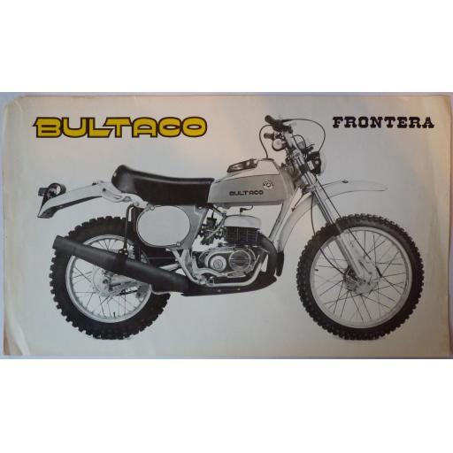 Bultaco Frontera Sales Brochure