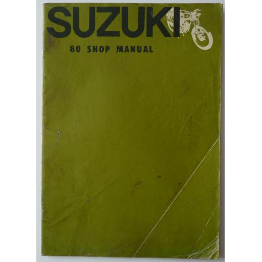 Suzuki 80 Workshop Manual - 1964