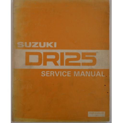 Suzuki DR125 Service Manual