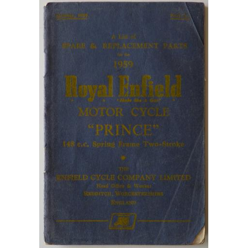 Royal Enfield Prince 148cc Spring Frame 2-Stroke - 1959