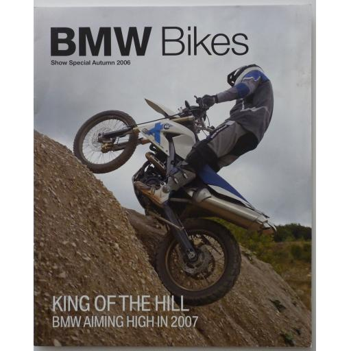 BMW Bikes Show Special Autumn 2006 King of the Hill BMW Aiming High in 2007
