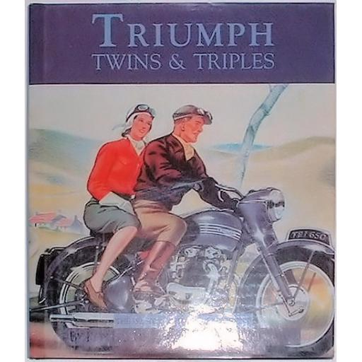 Triumph Twins and Triples by Roy Bacon Niton Publishing