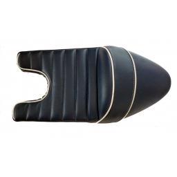 Cafe Racer Triton Seat SN 2130 Blue and White 01.jpg