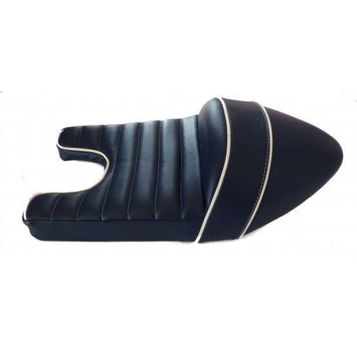 Cafe Racer Triton Seat SN 2130 Blue and White 03.jpg